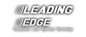 LeadingEdge Trophies Screen Printing